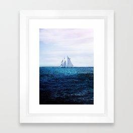 Sailing Ship on the Sea Framed Art Print