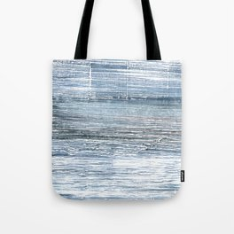 Pewter Blue abstract watercolor Tote Bag