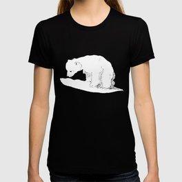Inquisitive bear T-shirt