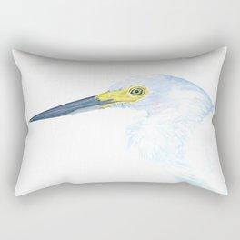 Green Eyed Heron Rectangular Pillow
