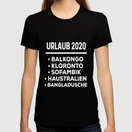 Vacation 2020  Virus  holiday T-shirt