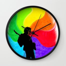 Dear Jimi Wall Clock
