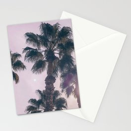Palm Tree Art Print {2 of 3} | Magenta Pastels Topical Beach Plant Nature Vacation Sun Vibes Artwork Stationery Cards
