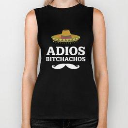 Adios Bitchachos Funny Mexican T-shirt Biker Tank