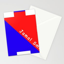 Ninja Blue and Red Stationery Cards