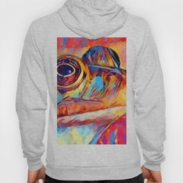 Frog Watercolor Hoody