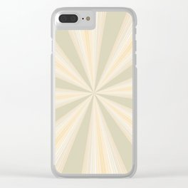 Summer Rays II Clear iPhone Case
