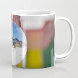 Changing Rooms at the Beach Coffee Mug