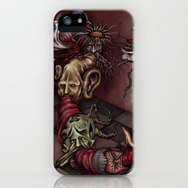 """Heads Vomit Heads"" iPhone Case"