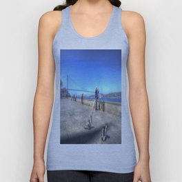 Fishermen And Cats Istanbul Unisex Tank Top