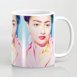Tres Fridas in Pink Coffee Mug