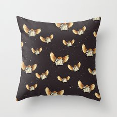 Flying Toasters 2 Throw Pillow
