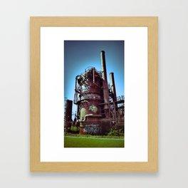 Gasification Plant  Framed Art Print