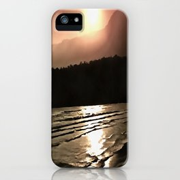 Overwhelming Waves of Sadness iPhone Case