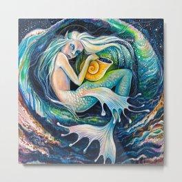 Sweet Dreams (Little Mermaid) Metal Print