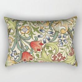 Modern poster-William Morris-Vegetable print 4. Rectangular Pillow