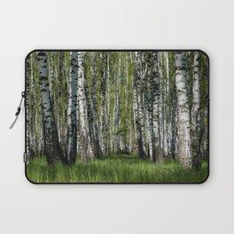 Birch Grove Forest Landscape Laptop Sleeve