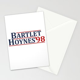 Bartlet and Hoynes 1998 Stationery Cards