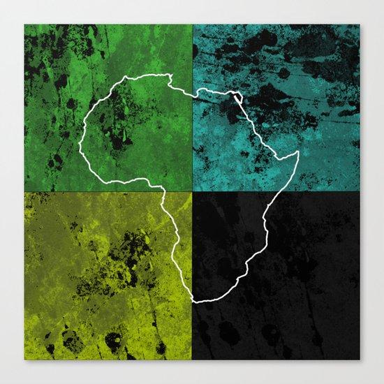 Tanzania III - Art In Support Of Kids 4 School Canvas Print
