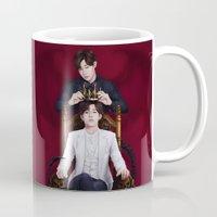 kpop Mugs featuring King Sunggyu by Nikittysan
