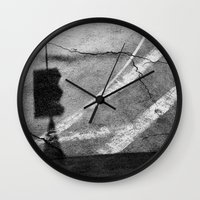 street Wall Clocks featuring street by shveshki.istorii
