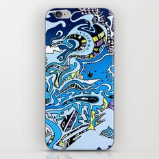 Swimming in the mind iPhone & iPod Skin