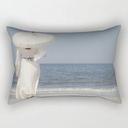 Waiting III Rectangular Pillow