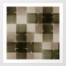 random pattern Art Print