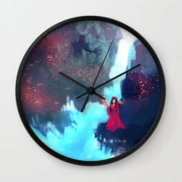 Supernatural - Witch - Waterfall Wall Clock