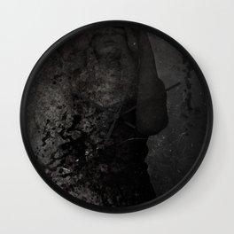 Morgue II Wall Clock