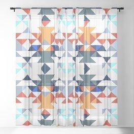 Aztec 5 Sheer Curtain