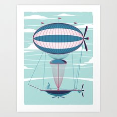 Sky Cycle Art Print