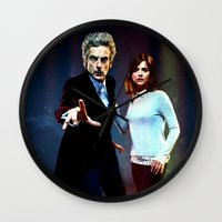 run Wall Clocks featuring Run! by Taylor Bookout
