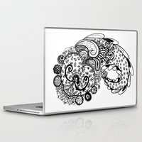 paisley Laptop & iPad Skins featuring Paisley by Flavia Caponi