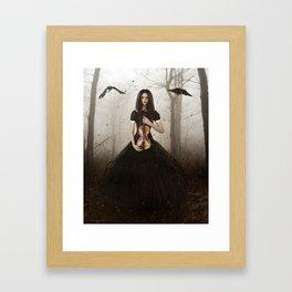 Dark Melodies Framed Art Print