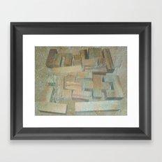 Mosaik 1.1 Framed Art Print