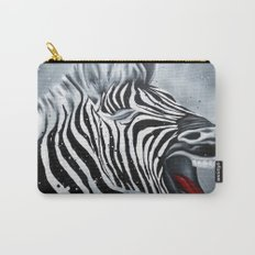 Cheeky Zebra Carry-All Pouch