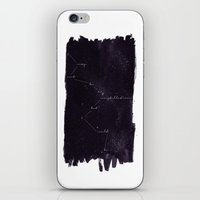 constellation iPhone & iPod Skins featuring Constellation by Lauren Spooner