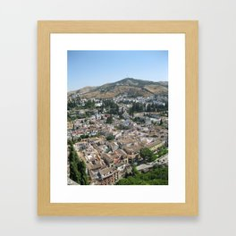 View from a Castle Framed Art Print