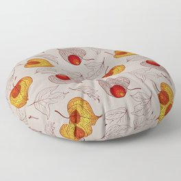 fruits of Physalis Floor Pillow
