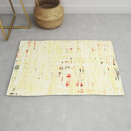 20190221 White Grid Coral No. 3 Rug