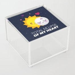 Total eclipse of my heart Acrylic Box