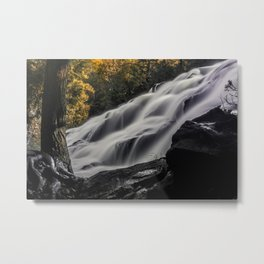 Eventually, all things merge into one, and a river runs through it Metal Print