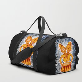 Conjoined Twins Circus Freaks Duffle Bag