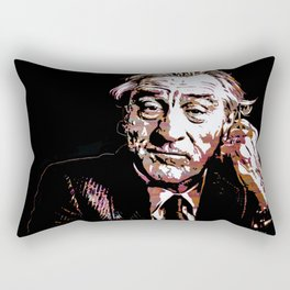 Portrait pop art Robert de Niro Rectangular Pillow