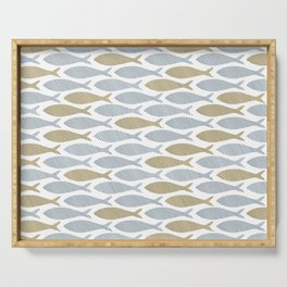 shoal of herring Serving Tray