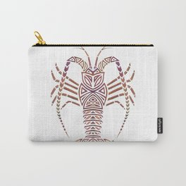 Tribal Caribbean Lobster Carry-All Pouch