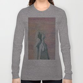 one flew over the statue Long Sleeve T-shirt