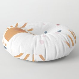 sunbursts Floor Pillow