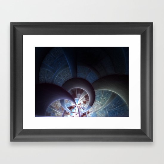 Industrial I Framed Art Print